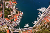 Part of Kotorska bay, Montenegro — Stock Photo