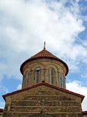 Dome of orthodox monastery Gelati near Kutaisi - Georgia — Stock Photo