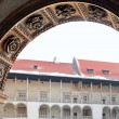 Classical Architectural Column. Royal Wawel Castle, Cracow. Poland — ストック写真