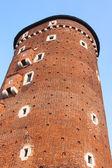 Tower of Wawel Castle — Stock Photo