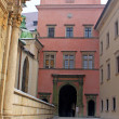 Entrance to Wawel palace — Foto de stock #8353911