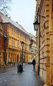 Old street in Krakow — Stock Photo