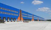 Industrial warehouse — Stock Photo
