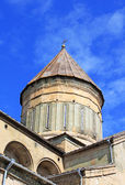 Cúpula da catedral de svetitsjoveli em mtskheta, georgia — Foto Stock