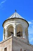 Cúpula da torre do sino da catedral de svetitsjoveli em mtskheta, georgia — Foto Stock