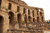 Part of amphitheater in El Jem, Tunisia — Stock Photo