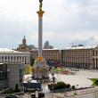 MaidNezalezhnosti square, Kiev, Ukraine — Stock Photo #8742356