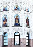 Part of church of Pechersk Lavra. Shrine of Ukraine. — Stock Photo