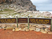 Sign of Cape of Good Hope — Stock Photo