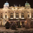 The Slowacki theatre, Krakow - Stok fotoğraf