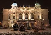The Slowacki theatre, Krakow — Stock Photo