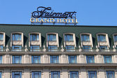 KYIV, UKRAINE - MARCH 29: New 5-stars hotel of Fairmont chain was opened on March 29, 2012 in Kyiv, Ukraine. There are 258 rooms including 54 luxury suites — Stock Photo