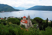 Savina Monastery is a Serb Orthodox monastery near the city Herceg Novi, Montenegro — Stock Photo