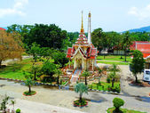 Phra Mahathat Chedi in Wat Chalong, Phuket, Thailand — Stock Photo