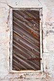 Old weathered door — Stock Photo