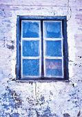 Cold window — Stock Photo