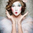Porcelain girl - 