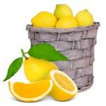 Basket with fruit — Stock Photo #10272081