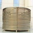 Vent pipes of modern building — Stock Photo #10464464