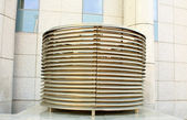 Vent pipes of modern building — Stock Photo
