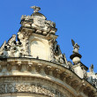Stock Photo: Construction of seventeenth century in baroque style (detail