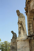 Stone statues of the saints — Stock Photo