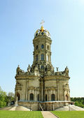 Orthodox church in baroque style — Stock Photo