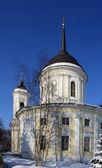 Orthodox church in sun light — Stock Photo