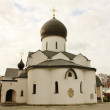 Domes of the orthodox church — Stock Photo
