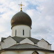 Domes of the orthodox church — Stock Photo #8072926