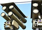 Sistema de mísseis anti-aéreos — Fotografia Stock