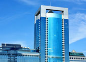 """Building of the area """"Moscow City"""" — Stock Photo"""
