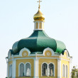Dome of the orthodox church — Stock Photo