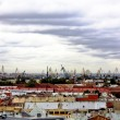 Stock Photo: View of seport of St. Petersburg