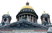 Dome of St. Isaac Cathedral in St. Petersburg — Stock Photo