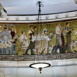 Mosaics in Moscow metro — Stock Photo #8128827