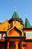 Towers of the Palace of Tsar Alexei Mikhailovich — Stock Photo