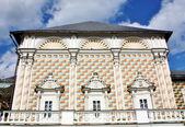 Trapeznye huset till kyrkan av sergey radonezh — Stockfoto