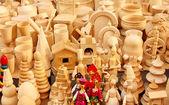 Russische souvenirs für touristen — Stockfoto