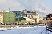 Moscow, Vodotvodny channe — Zdjęcie stockowe