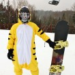 Snowboarder — Stock Photo #9224300