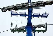 Mashine of lift station for slalom — Stock Photo