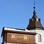 Постер, плакат: Wall tower of the St Nicholas Berlyukovsky Monastery
