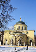 Orthodox church of the eighteenth century — Stock Photo