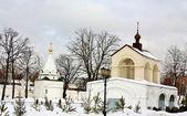 Часовня Николая Угрешскому Угрешскому монастыря — Стоковое фото