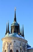 Top gothic church — Stock Photo