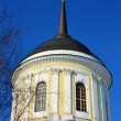 Dome of the orthodox church in sun light — Stock Photo