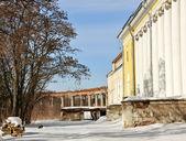 Old abandoned estate — Stock Photo