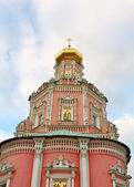 Temple of the Epiphany Monastery in Moscow — Stock Photo