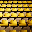 Yellow chairs — Stock Photo